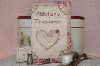 Stitchery Treasures Embroidery Pouch image