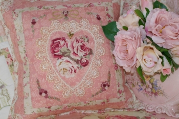Vintage Rose Parlour Pillow