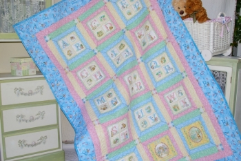 My Alphabet Single Bed Quilt
