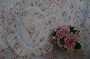Rosie's Boudoir Oval Cushion