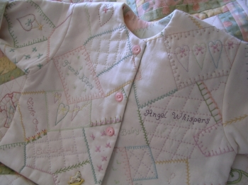 Faerie Kisses &  Angel Wishes Stitched Childs Jacket ~Patch Print lining (Slumber Party) image