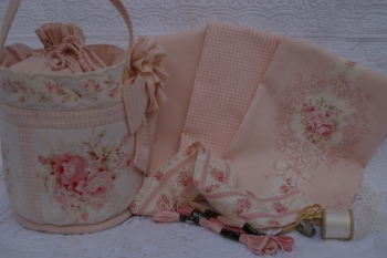 Embroidery Tote - New Fabrics  image