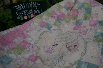 Faeries at Play - Rococo fabrics ~ Special Price