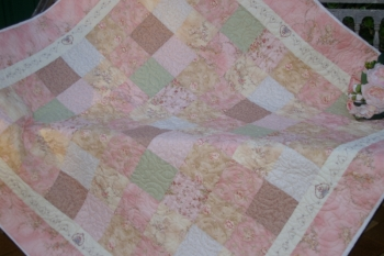 Love & Kisses Charm Quilt - Half Price Special