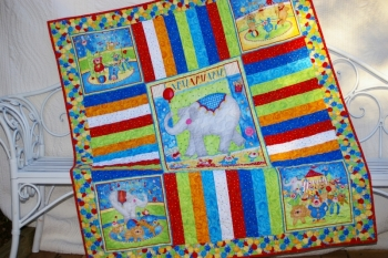 Circus Cot Quilt image