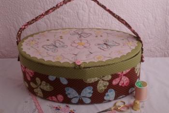 A Butterflys Garden Work Basket Challenge