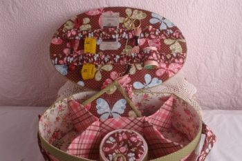 Faeries In My Garden - A Butterfly's Garden Work Basket Challenge