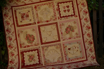 Sweet Valentine in New Fabrics ~ Special Price image