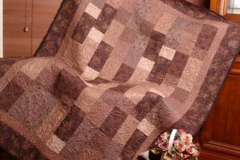 Hot Chocolate Quilt ~ in Original Fabrics