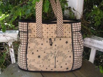 Stitch in Time Combined Carry Bag, Sewing Accessories and Lantern Bag image