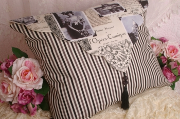Amy's Apartment in Paris ~ Cushion