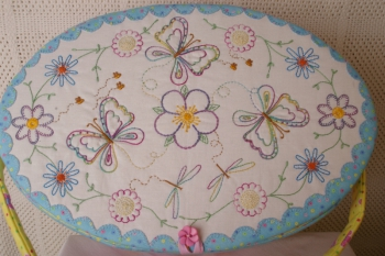 Tracey's Butterfly's Garden Workbasket  image