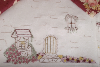 Rosewood Cottage Embroidery Workbox image