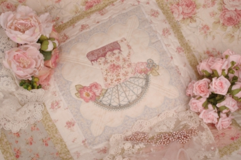 An Earl Grey Romance ~ New Fabrics Option A or B image