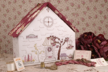 Rosewood Cottage Embroidery Workbox