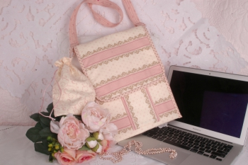 Lily's Laptop Cover & Accessories Pouch  image
