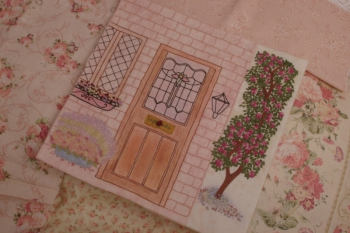 An English Country Garden ~ Embroidered Quilt image