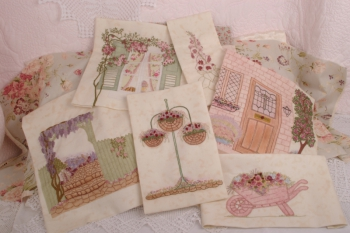 An English Country Garden Queen size Quilt ~ Only a few kits left! image
