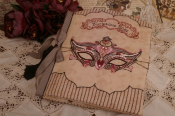 Burlesque Rose Embroidery Folder image