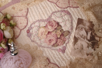 An Earl Grey Moment ~ New Fabrics Mauve Colourway image