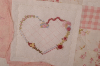 Close to My Heart Sofa Quilt image