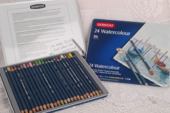 Derwent Water Colour Pencils ~ Set of 24