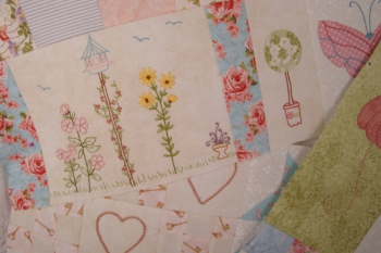 Phoebe's Secret Garden ~ New Fabrics image
