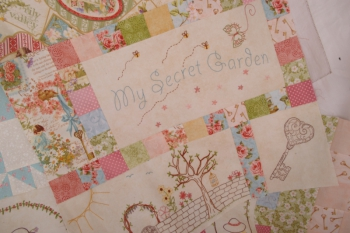Phoebe's Secret Garden ~ New Fabrics ~ All kits now sold