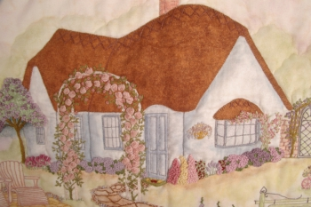 Hollyhock Cottage image