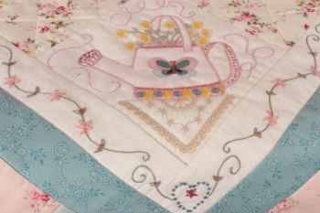Strawberries & Cream Supper Cloth image