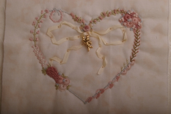 Madeline Embroidered Heart image