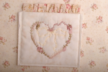 Leila Embroidered Heart image
