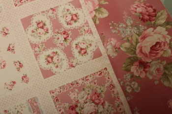 Pretty Roses Panel Quilt ~ Special Introductory Price