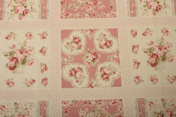 Pretty Roses Panel Quilt Kit with Backing included ~ SUPER SPECIAL image