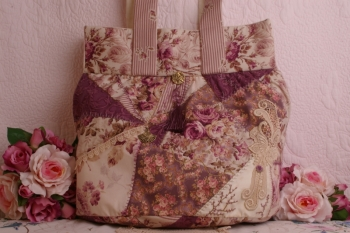 Rosie's Carpetbag ~ Plum Version ~ Extra Special Price
