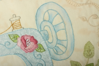Miss Becky's Vintage Drapery ~ Mystery Quilt