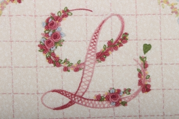 Embroidered Alphabet image