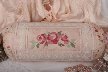 French Lace Bolster ~ Guided Project ~ Stitch Along with Kate