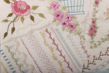 Kate's Embroidery Sampler Class ~ Final Opportunity One-day Saturday Class image