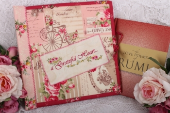 A Grateful Heart Perpetual Journal Folder image