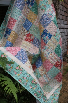 Tutti Frutti Tilda Charm Quilt ~ Super Special Introductory Price