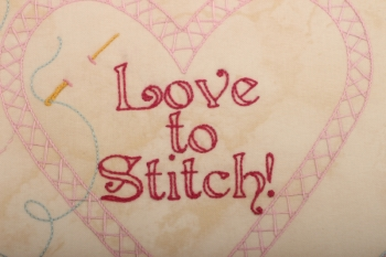 Love to Stitch Project Tote image