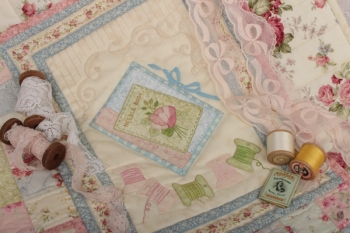Miss Becky's Vintage Drapery ~ Pattern Set and Kit image