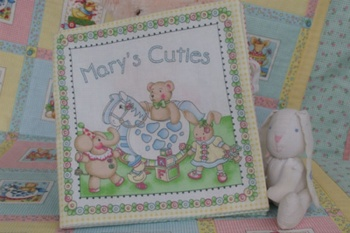 Marys Cuties Cloth Book