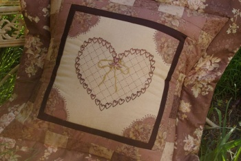 Victorian Chocolate Box Cushion image
