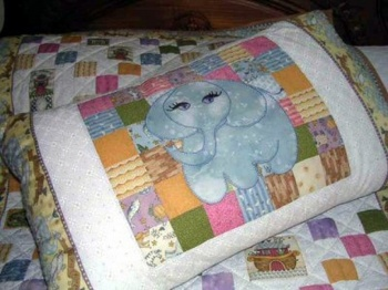 Elephant Pillow image