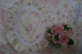Rosies Boudoir OVAL CUSHION ~ SPECIAL PRICE