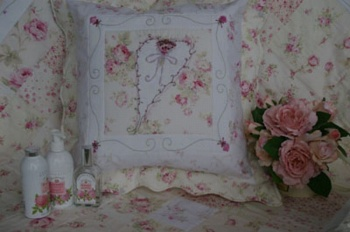 Rosies Boudoir SQUARE CUSHION  ~ SPECIAL PRICE