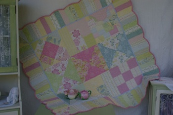 Slumber Party Funky Floor Quilt