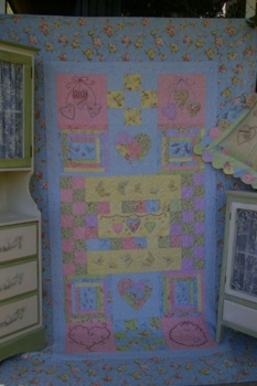 A Summer Love Affair Single Bed Quilt EXTRA SPECIAL PRICE